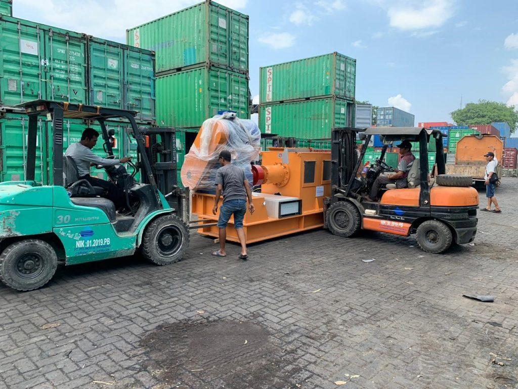 pengiriman kontainer domestik