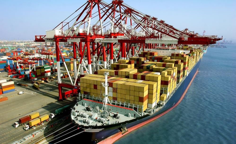 pengiriman kontainer import
