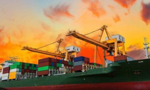 pengiriman jalur laut
